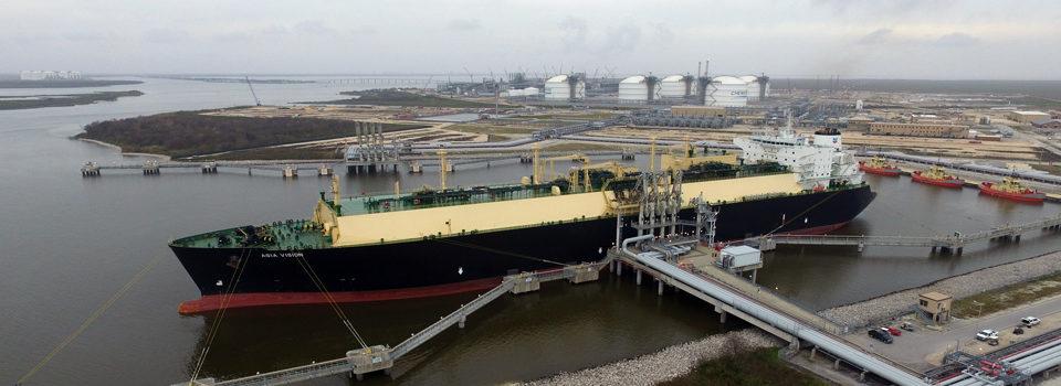 First export cargo Sabine Pass